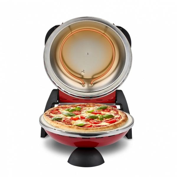 Cuptor pizza G3Ferrari Delizia special cu suprafata de coacere din piatra refractara, termoregulator pana la 390° C si timer cu atentionare sonora 3