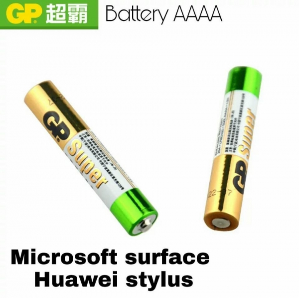 Baterii AAAA  LR61, 4A  sau LR8 GP, 1.5V, alcalina, Blister 2 buc 0