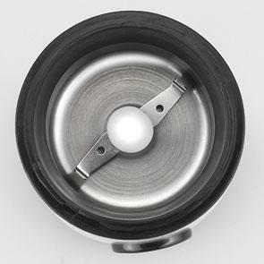 Rasnita cafea Girmi - MC01 cu lame si corp din inox, capacitate 50g, 150W, inox-negru 1