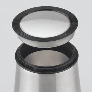 Rasnita cafea Girmi - MC01 cu lame si corp din inox, capacitate 50g, 150W, inox-negru 3