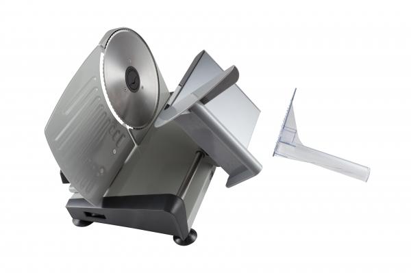 Feliator electric din otel inoxidabil utilizare multifunctionala feliere alimente cu diametru de pana la 19 cm 1