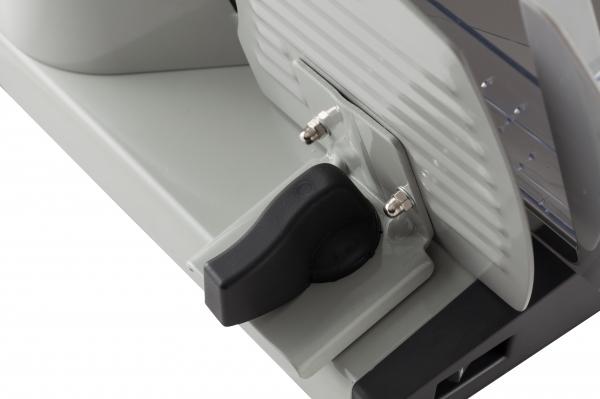 Feliator electric din otel inoxidabil utilizare multifunctionala feliere alimente cu diametru de pana la 19 cm 2