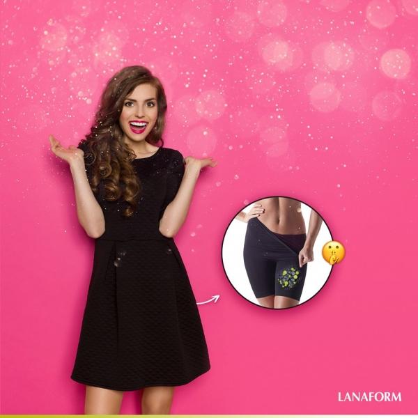 Colanti pentru slabire Secret Slim negru elastic, marime XL 4