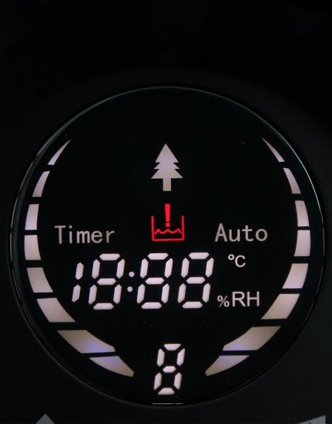 Umidificator aer Lanaform - New Vapolux capacitate 4.5l , detectare si afisare umiditate, 3 viteze, telecomanda, autonomie 12h, productie de ioni negativi 6
