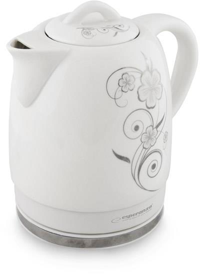 Ceainic electric din ceramica emailata 1.5 l,  1350 W 0