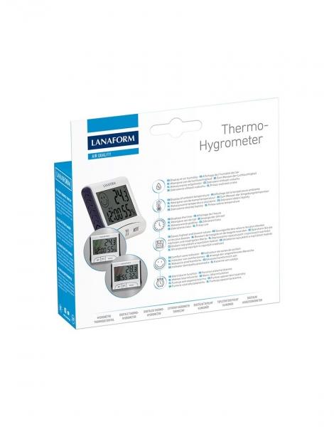 Termohigrometru digital usor de citit, functie de memorie, masoara temperatura si umiditatea 2