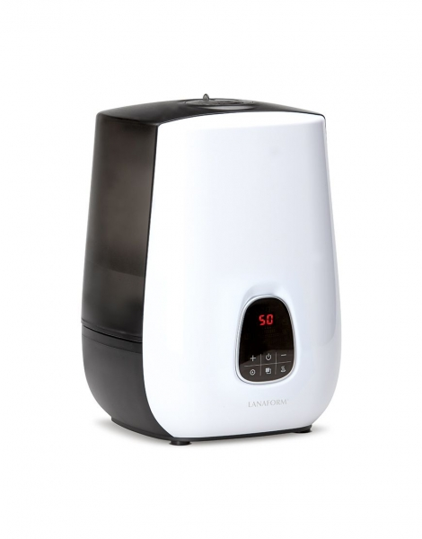 Umidificator aer Notus capacitate 4.8l cu aer cald si rece, 3 trepte, oprire automata, filtru anti-calcar, silentios, alb 0