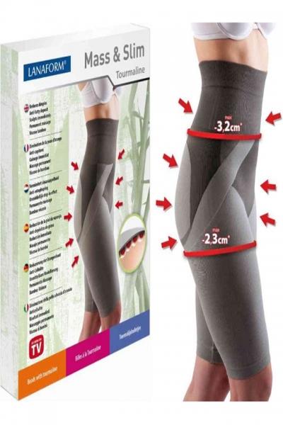 Colanti cu efect de modelare, intarire, cu turmalina, masaj 3D marime S, gri, ideali pentru activitate sportiva 1