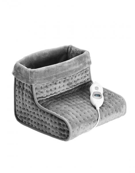 Incalzitor picioare cu tesatura confortabila, 3 nivele de caldura, protectie supraincalzire, telecomanda 0