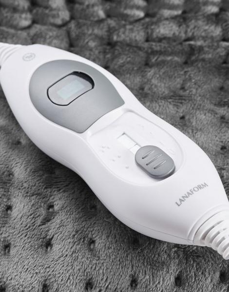 Incalzitor picioare cu tesatura confortabila, 3 nivele de caldura, protectie supraincalzire, telecomanda 3