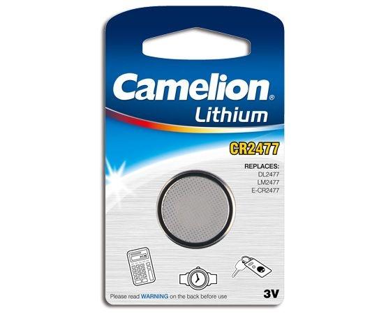 Baterie CR2477 lithium 3V , blister de 1 buc, CR Lithium, Camelion 0