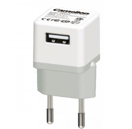 Incarcator de priza universal cu USB, protectie la scurtcircuit si la supraincalzire, Camelion- AD3127 [0]