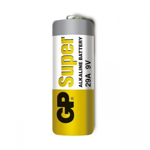 Set 5 Baterii alkaline High Voltaj  GP A29 9V  pentru telecomenzi auto si alte dispozitive 1