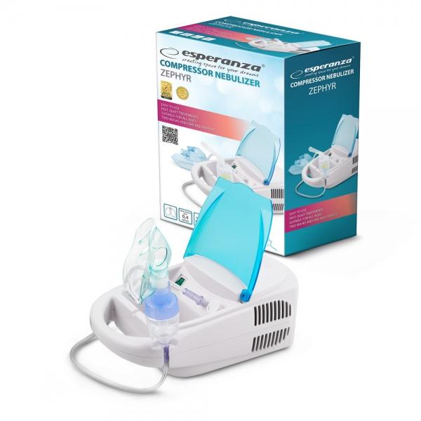 Aparat de aerosoli nebulizator cu compresor, kit complet de accesorii inclus [0]