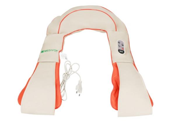 Guler multifunctional masaj Taiko CF-1007, multiple moduri de masaj si intensitati, 40 x 31,5 x 16 cm, bej 0