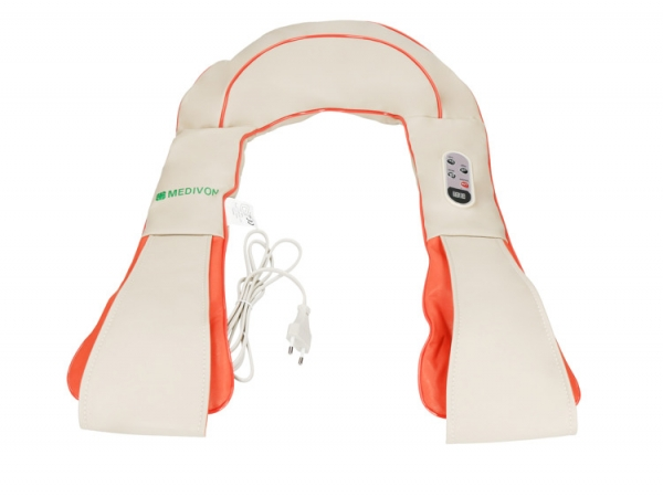 Guler multifunctional masaj Taiko CF-1007, multiple moduri de masaj si intensitati, 40 x 31,5 x 16 cm, bej 1