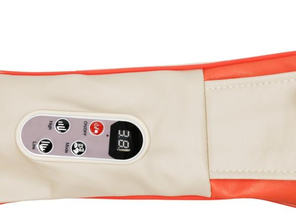 Guler multifunctional masaj Taiko CF-1007, multiple moduri de masaj si intensitati, 40 x 31,5 x 16 cm, bej 2