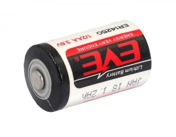 Baterie lithium 3.6 V LS14250 sau CR 1/2AA pentru alarme, sonerii, dispozitive medicale si alte dispozitive 0