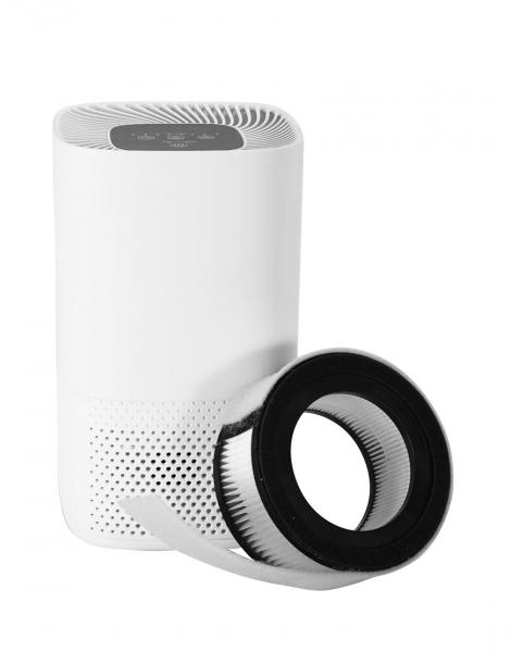 Purificator de aer Lanaform cu 3 filtre, carbon, pre-filtru si HEPA E11, carbon, lumina UV, 4 niveluri de functionare, timer 2, 4, 8h 2