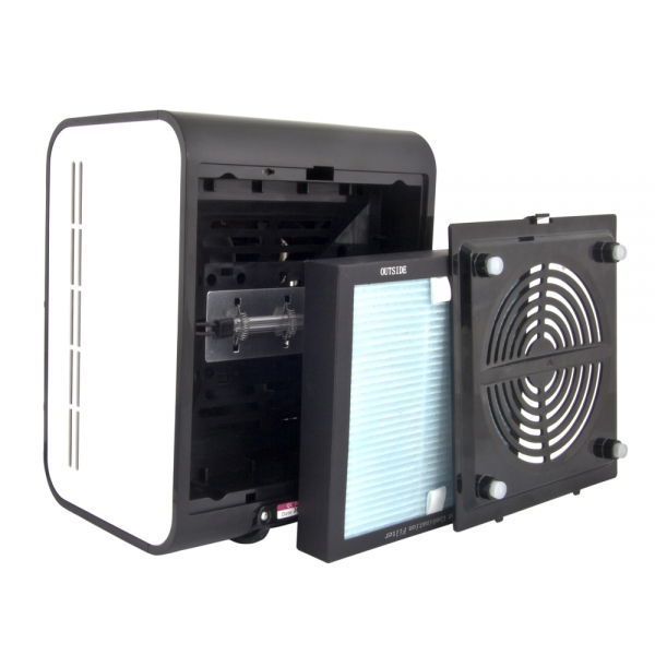 Purificator aer BREEZE cu 3 filtre si generator de ioni negativi capacitate 30 MC/h [1]