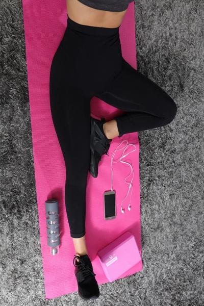 Colanti Active Slim pentru exercitii fizice cu fibre biorceramice si micromasaj 3D, marime M 4