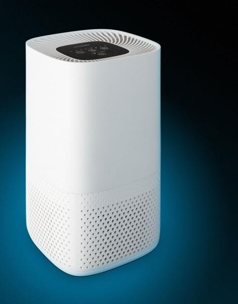 Purificator de aer Lanaform cu 3 filtre, carbon, pre-filtru si HEPA E11, carbon, lumina UV, 4 niveluri de functionare, timer 2, 4, 8h 7