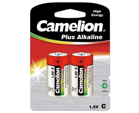 Baterii  LR14 C, blister de 2 buc, Plus Alkaline, Camelion [0]