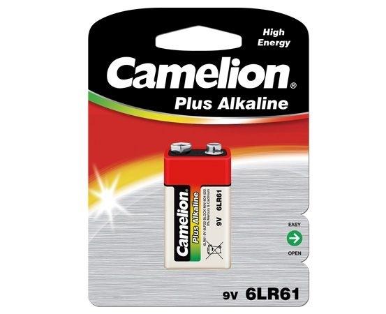 Baterie 9V alcalina 6LF22, 1 buc/blister Plus Alkaline, Camelion 0