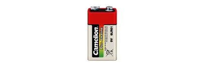 Baterie 9V alcalina 6LF22, 1 buc/blister Plus Alkaline, Camelion 1