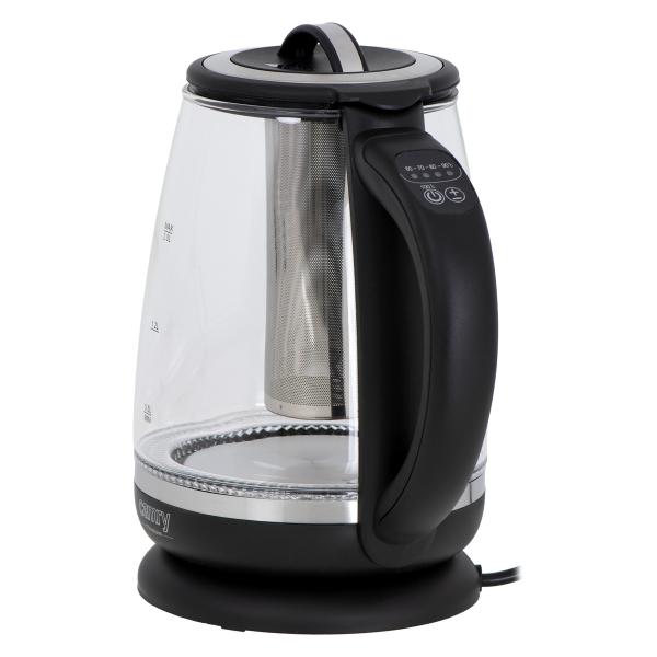 Cana electrica cu reglare temperatura 60-100 ° C si filtru ceai Camry 2l 5