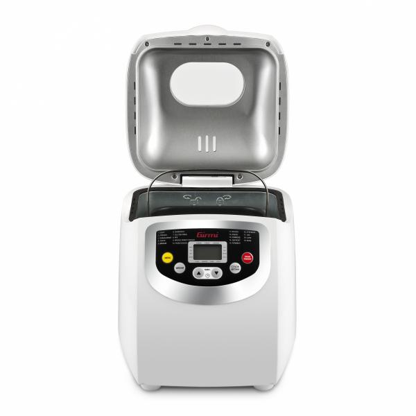 Masina de paine Girmi MP20 600W 1000g, 19 programe, ecran LCD, cronometru, Alb 1