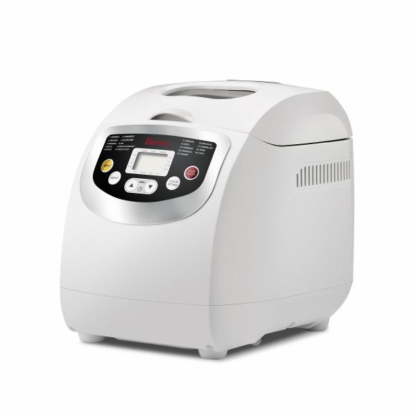 Masina de paine Girmi MP20 600W 1000g, 19 programe, ecran LCD, cronometru, Alb 0