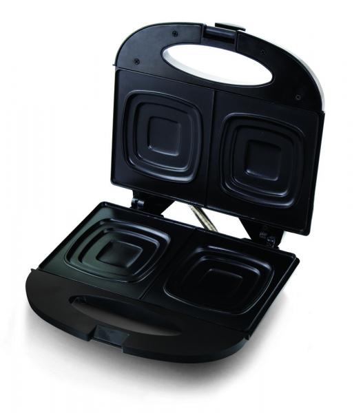 Sandwich Maker Pizzaiola 700 W, placi neaderente, indicator LED culoare negru 3