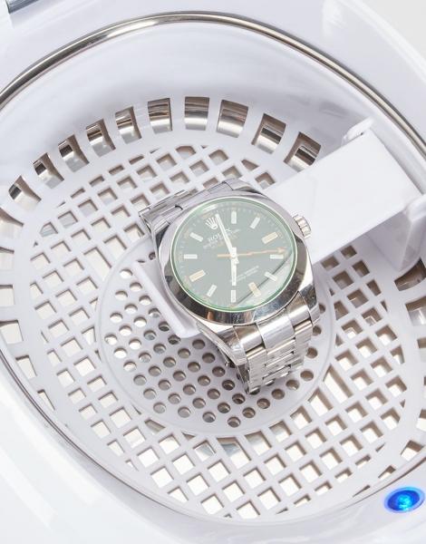 Aparat de curatat cu ultrasunete Lanaform pentru bijuterii, ochelari, proteza dentara, ceasuri prin tehnologie [3]