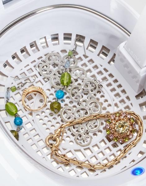 Aparat de curatat cu ultrasunete Lanaform pentru bijuterii, ochelari, proteza dentara, ceasuri prin tehnologie [4]