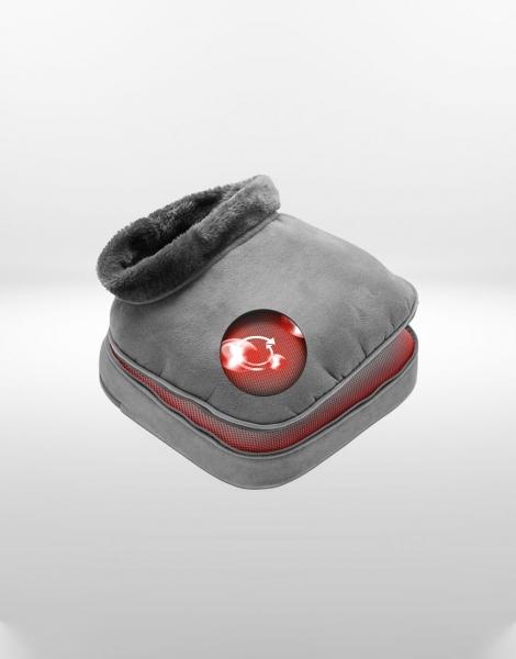 Aparat de masaj 2 in 1 Shiatsu Comfort si incalzire, 4 capete rotative, directie de rotatie dubla, 2 niveluri incalzire si vibratii, functie oprire automata 3