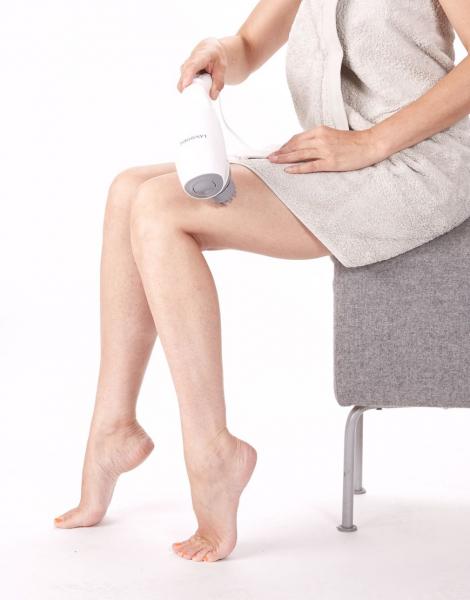 Aparat masaj Lanaform - Body Tapping cu 3 capete interschimbabile, 2 viteze, relaxant si stimulant 7