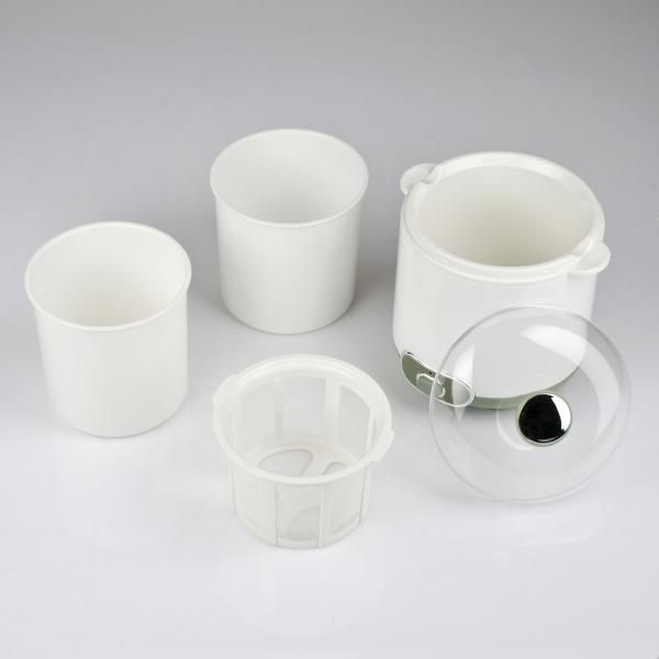 Aparat de preparat iaurt Girmi cu vas de 1.5l, include accesorii pentru iaurt grecesc 2