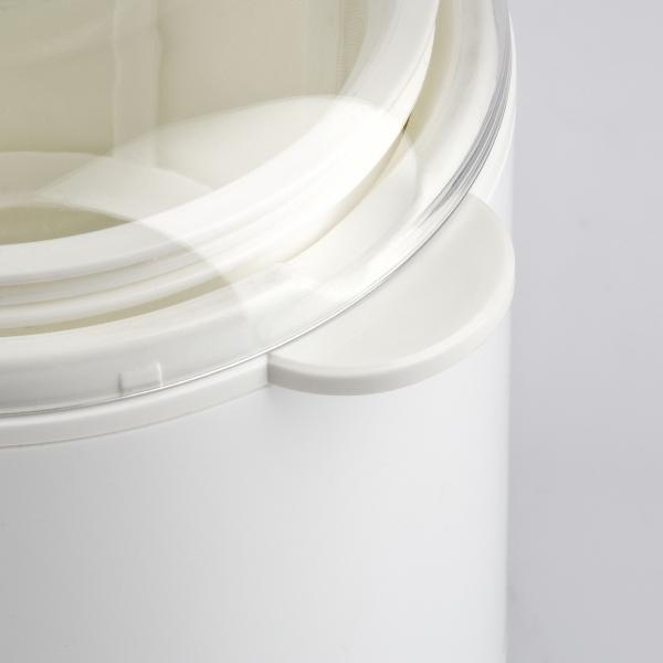 Aparat de preparat iaurt Girmi cu vas de 1.5l, include accesorii pentru iaurt grecesc 4