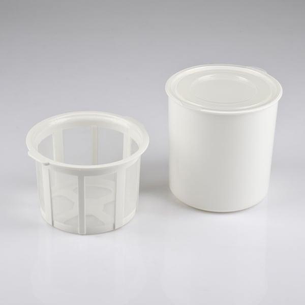 Aparat de preparat iaurt Girmi cu vas de 1.5l, include accesorii pentru iaurt grecesc 5