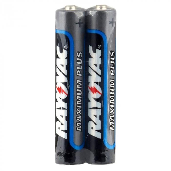 Baterie AAAA, LR61, 25A, LR8D425, MN2500, MX2500, Alcalina Rayovac set 2 buc. 0