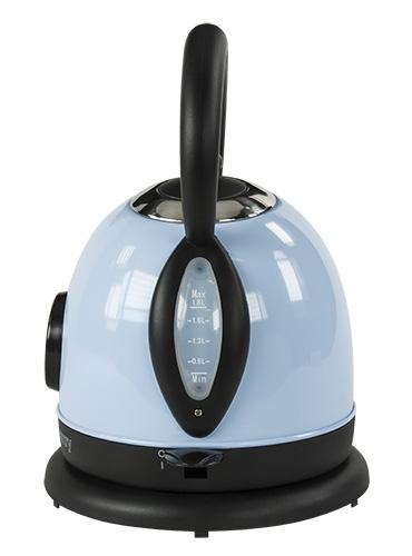 Cana electrica cu termometru Vintage MECR1252B 1,8 L 2200W culoare bleu azur 4