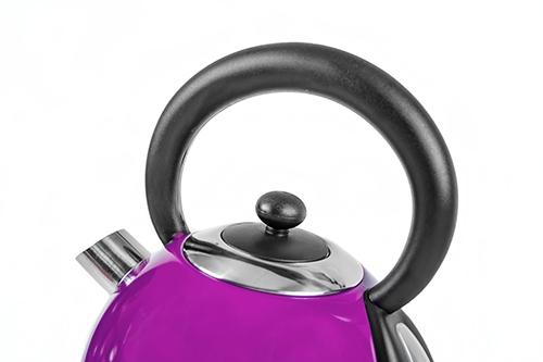 Cana electrica cu termometru Vintage MECR1252v 1,8 L 2200W culoare violet 4