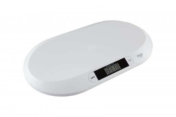 Cantar digital pentru bebelusi cu precizie de g, forma ergonomica, ecran LCD 0