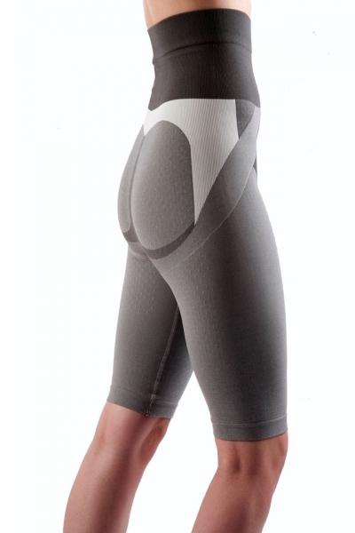 Colanti cu efect de modelare, intarire, cu turmalina, masaj 3D marime XL, gri, ideali pentru activitate sportiva 2