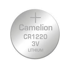 Baterii Lithium cu durata lunga de viata Camelion CR1220, vanzare la  Blister de 5 bucati pentru alarme si alte dispozitive electronice [1]
