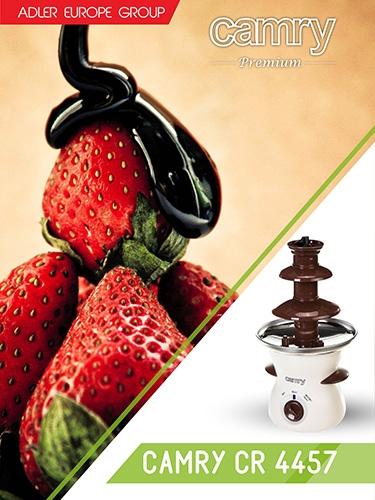 Fantana de ciocolata pe 3 nivele 500 ml 80w 5