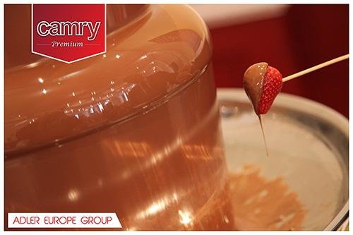 Fantana de ciocolata pe 3 nivele 500 ml 80w 7