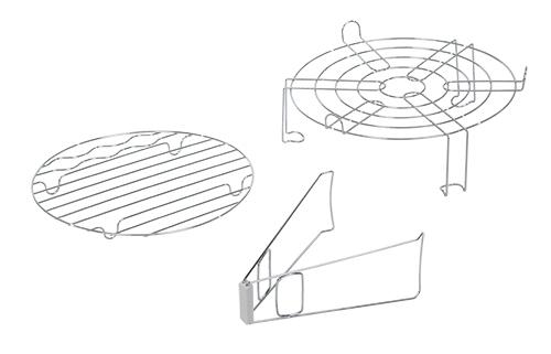 Cuptor cu convectie 12-14l cu utilizare diversa de coacere, prajire, gratar, abur, cuptor, dezghetare, incalzire 3