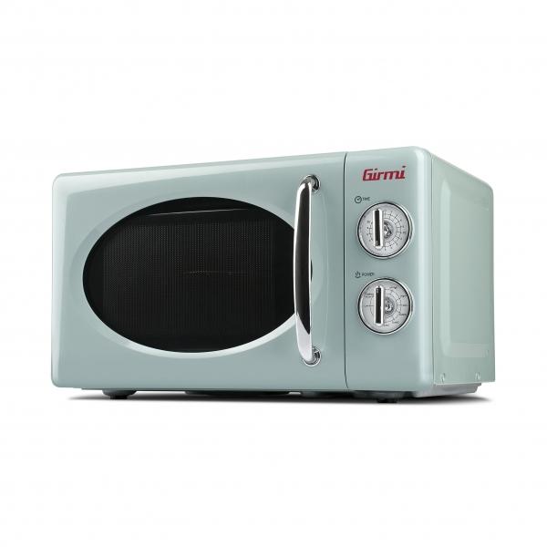 Cuptor cu microunde Girmi retro vintage, 20l, 700W, timer, grill, verde 1